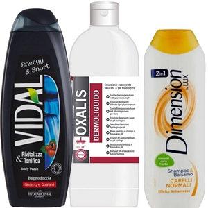 Shampoo e Bagno schiuma