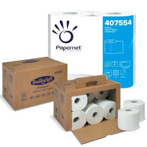 Carta igienica, copri WC e sacchetti